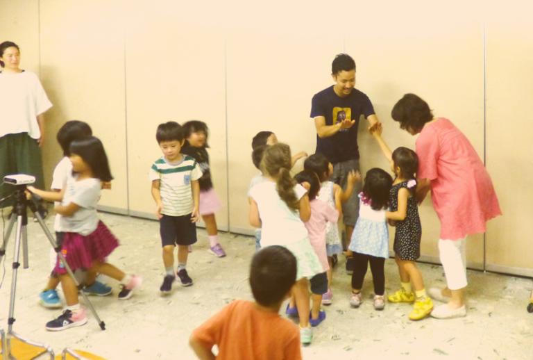 子ども聖書クラブの風景