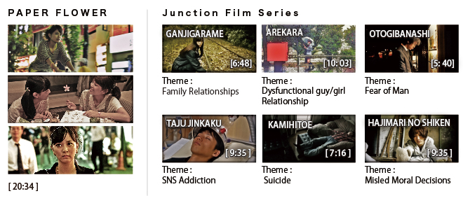 Paper Flower & JUNCTION Film Series